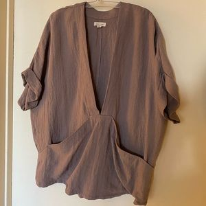 Silence + Noise pullover blouse